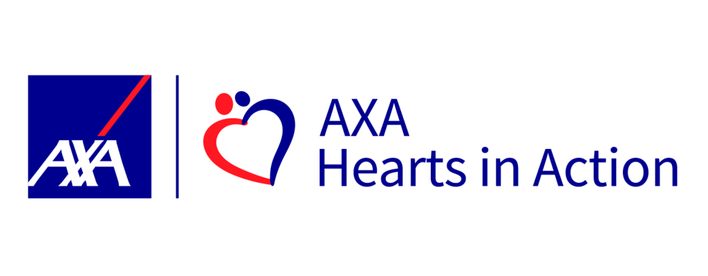 AXA hearts in Action
